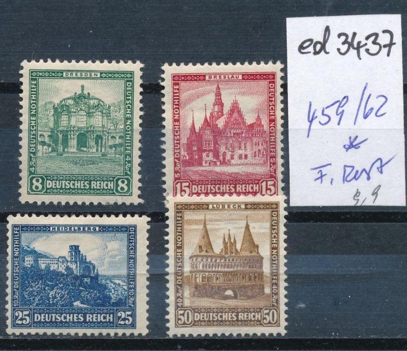 D.-Reich Nr. 459-62   *   (ed3437  ) siehe scan