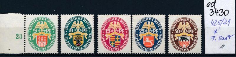 D.-Reich Nr. 425-9   *   (ed3430  ) siehe scan