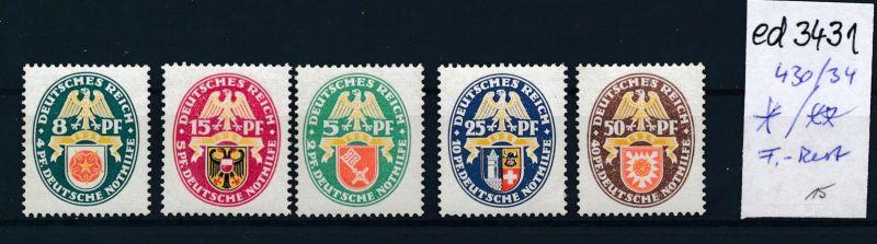 D.-Reich Nr. 430-4    *   (ed3431  ) siehe scan