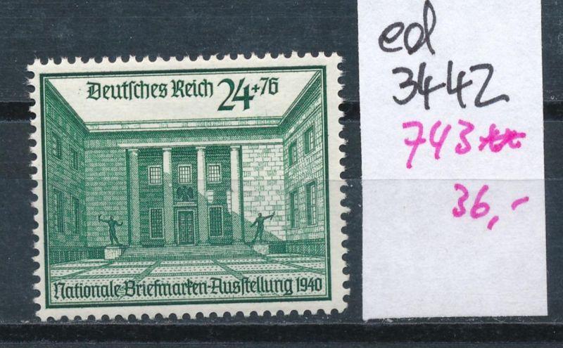 D.-Reich Nr. 743  **    (ed3442  ) siehe scan