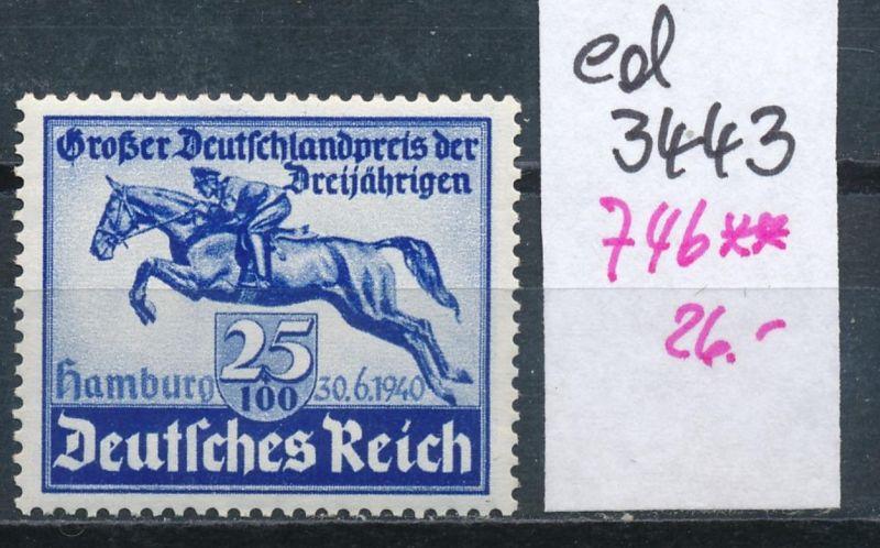D.-Reich Nr. 746  **    (ed3443  ) siehe scan