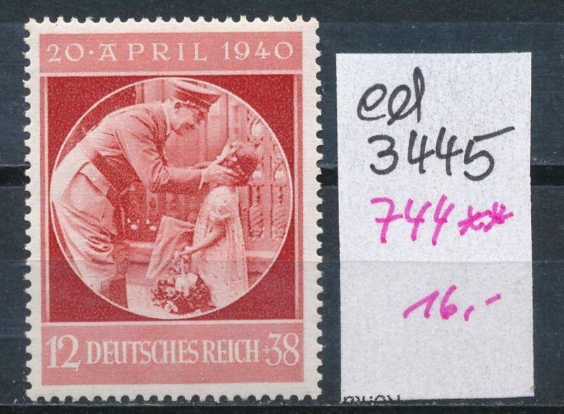 D.-Reich Nr. 744  **    (ed3445  ) siehe scan
