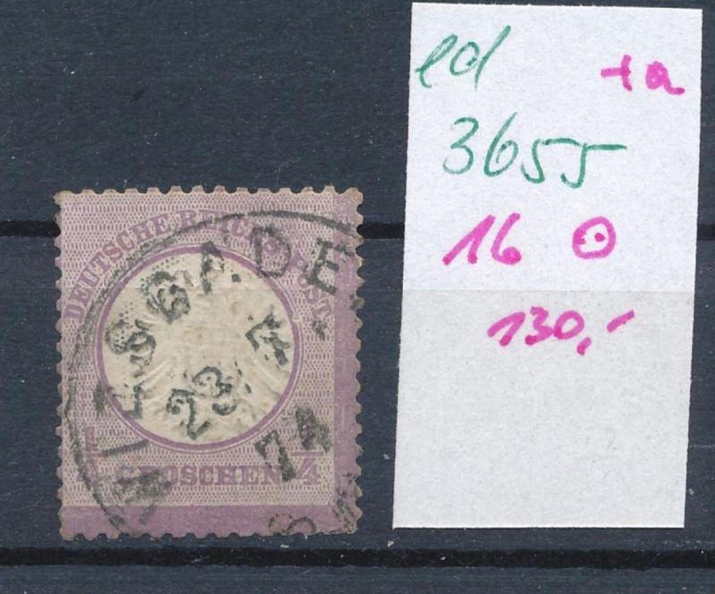 D.-Reich Nr. 16 o   (ed3655  ) siehe scan