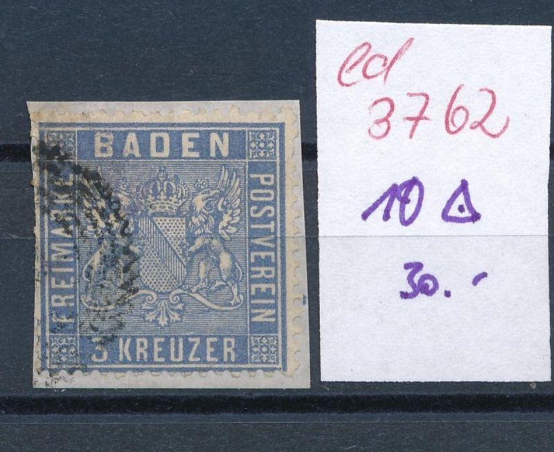 Baden Nr. 10   o     (ed3762  ) siehe scan