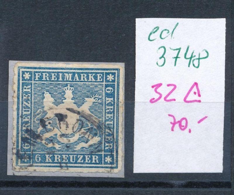 Würtemberg  Nr. 32     o     (ed3748  ) siehe scan