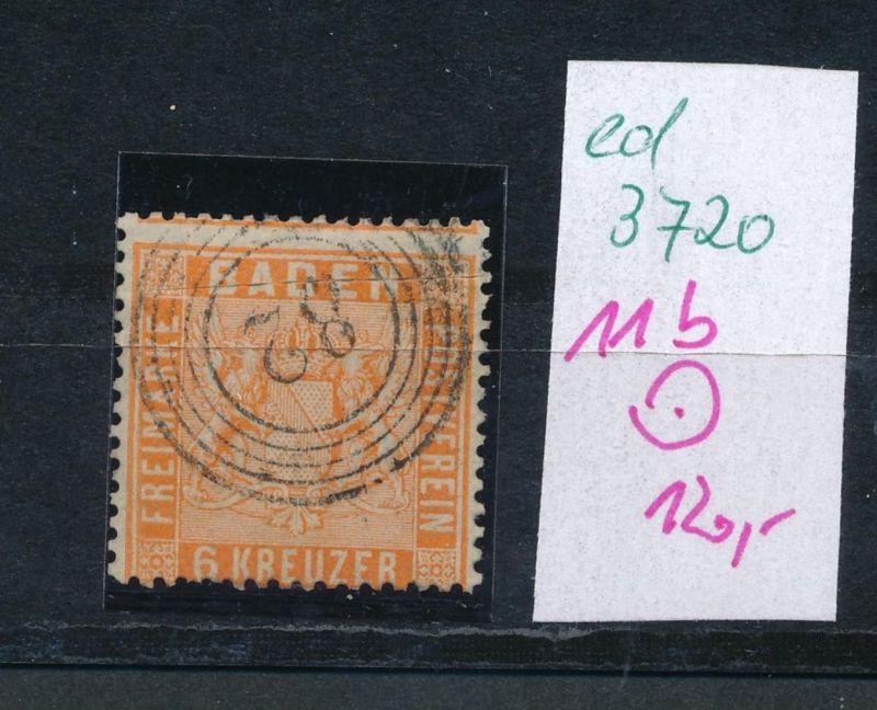 Baden  Nr.  11b    (ed3720  ) siehe scan