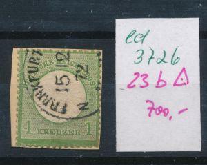 D.-Reich Nr. 23 b o    (ed3726  ) siehe scan