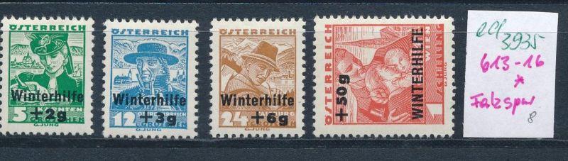 Österreich  Nr.613-6  * (ed3935  ) siehe scan