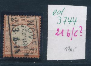 D.-Reich Nr. 21 Type  ? o  (ed3744  ) siehe scan