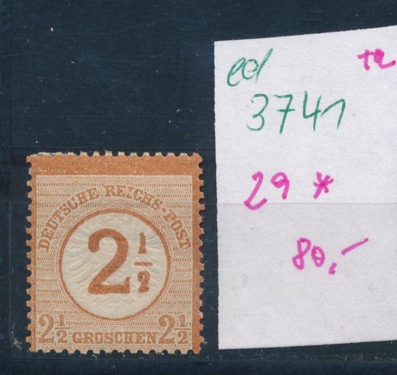 D.-Reich Nr. 29 *  (ed3741  ) siehe scan