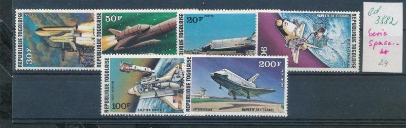 Togo Space Serie    **   (ed3882  ) siehe scan