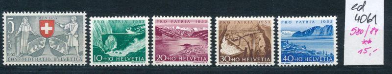 Schweiz  Nr. 580-4     **   (ed4061  ) siehe scan
