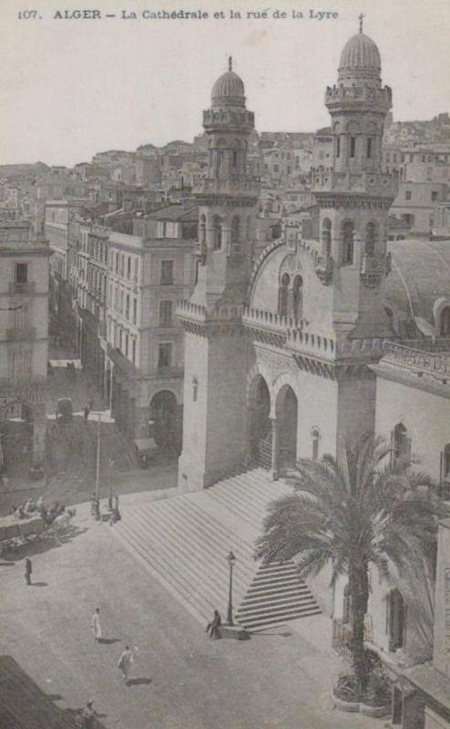 Alger  - alte Karte    (ke229  ) siehe scan