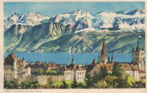 Lausanne....  - alte Karte    (ke1279  ) siehe scan