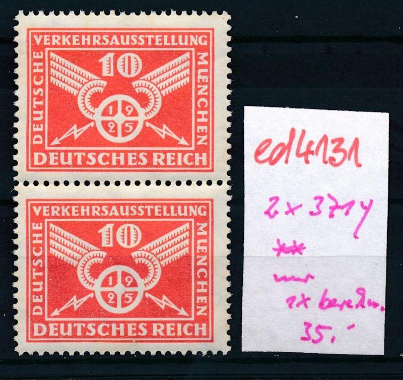 D.-Reich Nr. 371y   ** (ed4131  ) siehe scan