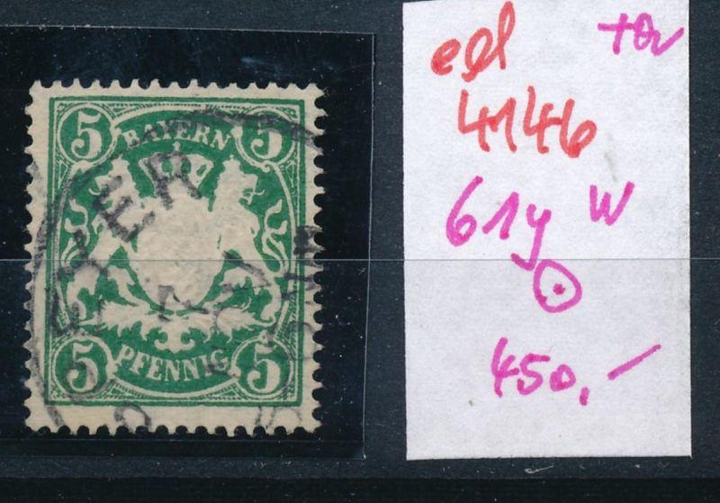 Bayern Nr. 61y w  o   (ed4146  ) siehe scan
