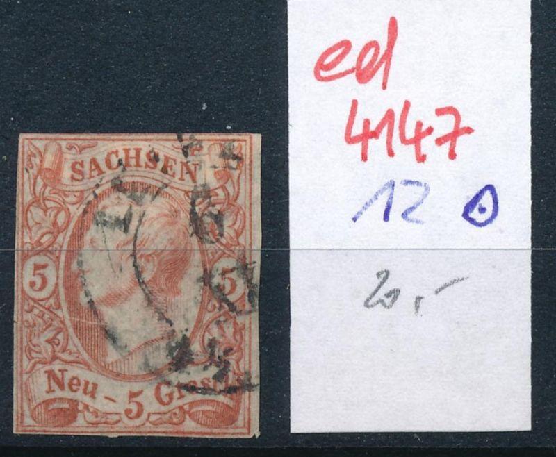 Sachsen Nr.12   o   (ed4147  ) siehe scan