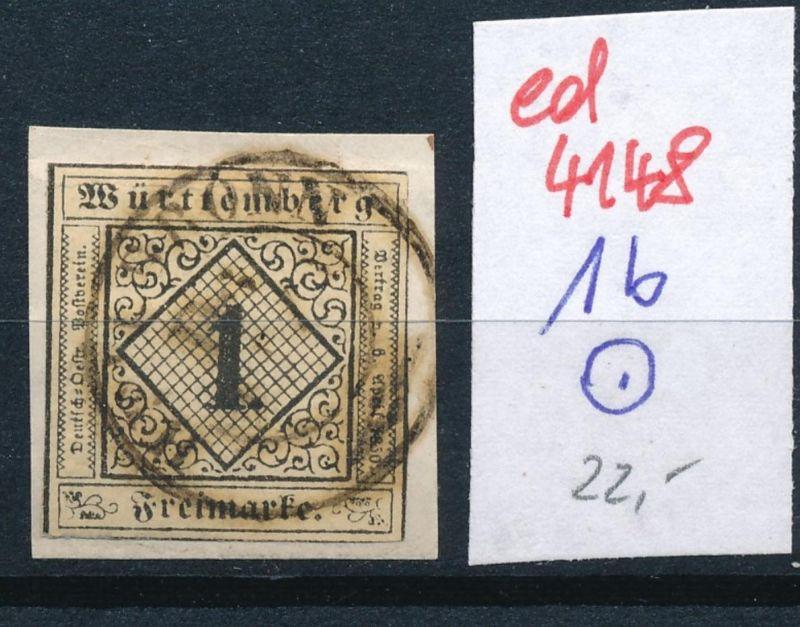 Würtemberg Nr. 1b   o   (ed4148  ) siehe scan
