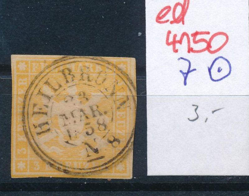 Würtemberg Nr. 7  o   (ed4150  ) siehe scan