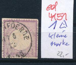 D.-Reich Nr.1 kleine Marke   o   (ed4151  ) siehe scan