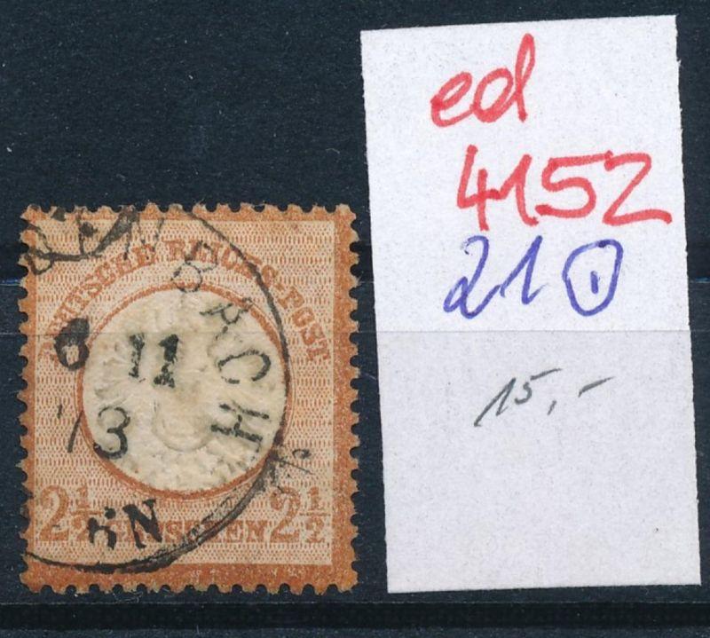D.-Reich Nr. 21    o   (ed4152  ) siehe scan