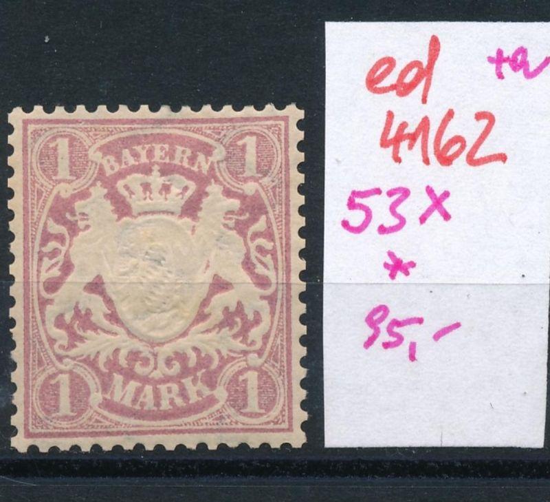 Bayern Nr. 53 x  *   (ed4162  ) siehe scan
