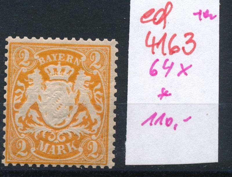 Bayern Nr. 64 x  *   (ed4163  ) siehe scan