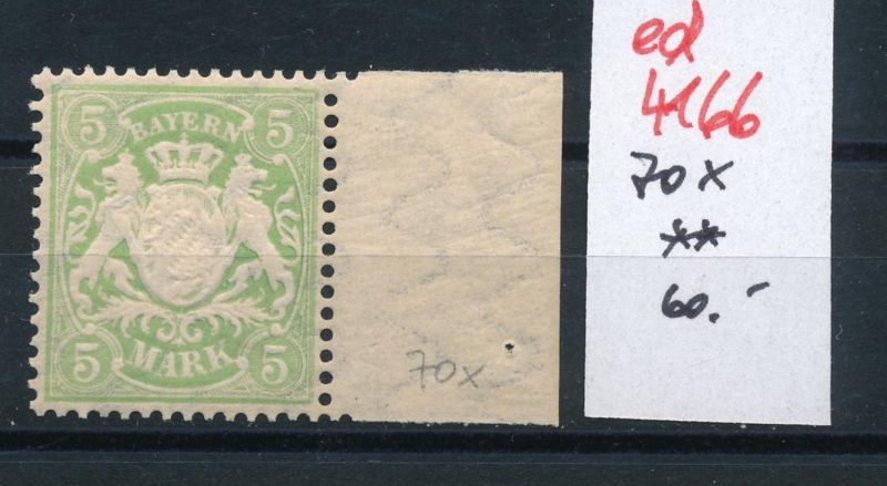 Bayern Nr. 70 x  **  (ed4166  ) siehe scan