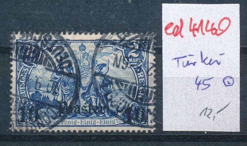 D.-Post Türkei Nr.45    (ed4140  ) siehe scan