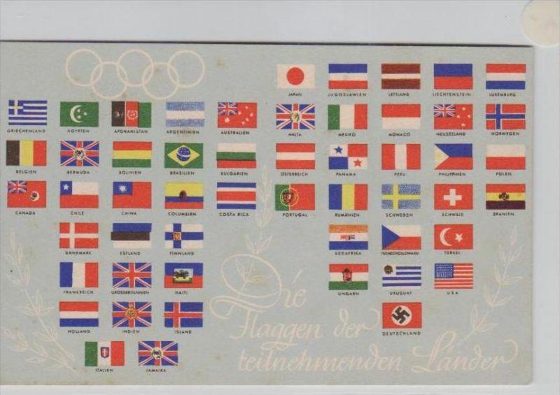 Olympiade 1936  -alte Karte   (  k 7070 ) siehe Foto