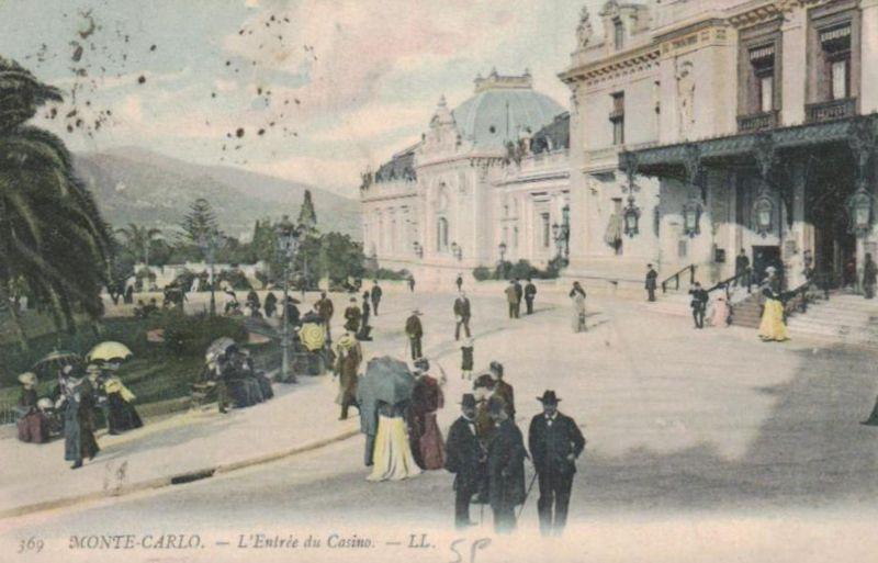 Monte Carlo ...-alte Karte     (ka9593  ) siehe scan