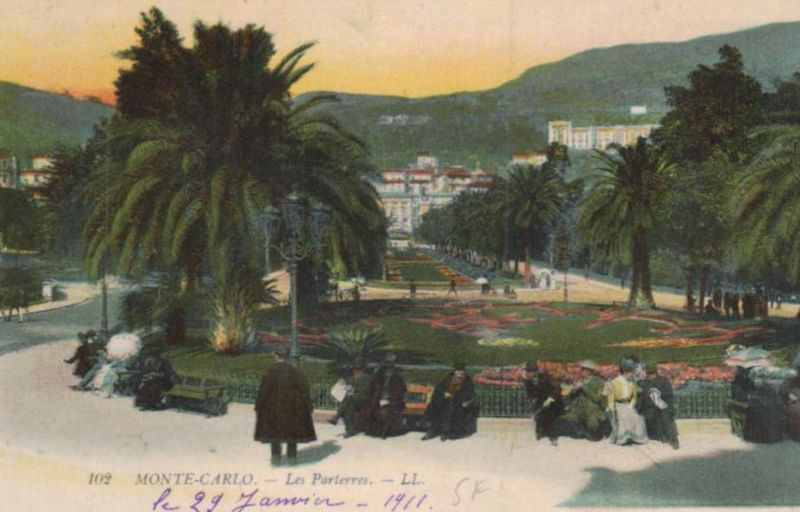 Monte Carlo ...-alte Karte     (ka9595  ) siehe scan