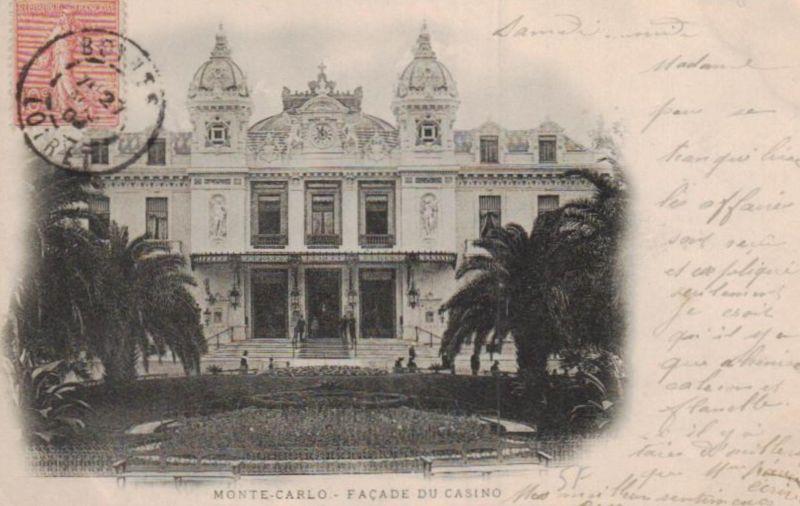 Monte Carlo ...-alte Karte     (ka9599  ) siehe scan