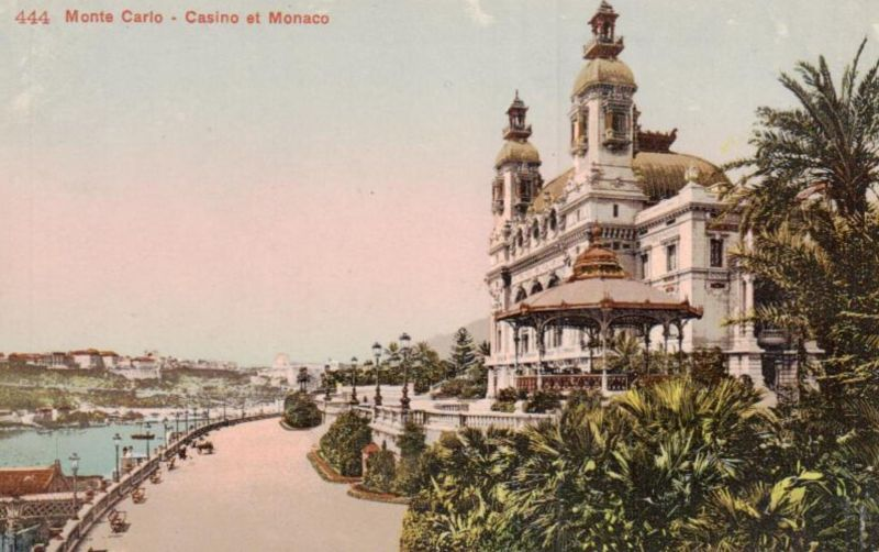 Monte Carlo ...-alte Karte     (ka9601  ) siehe scan