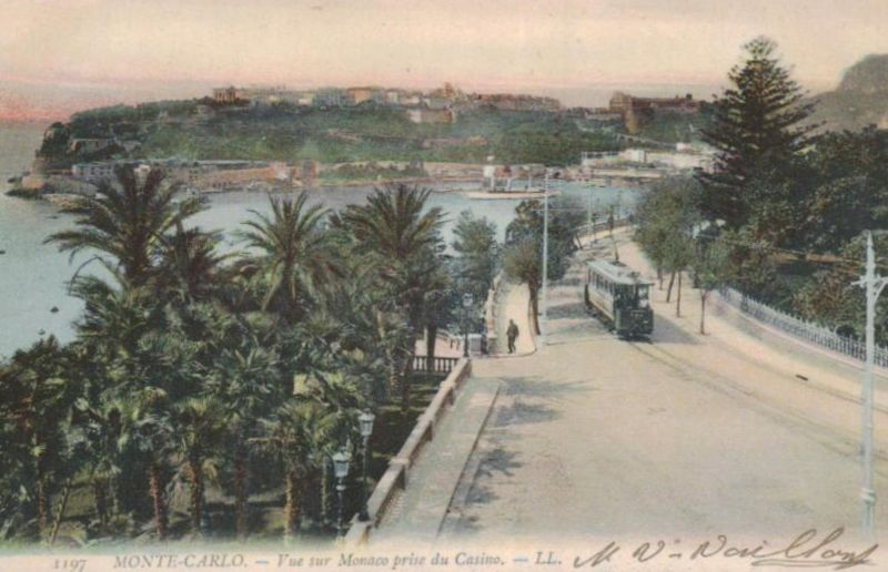 Monte Carlo ...-alte Karte     (ka9603  ) siehe scan