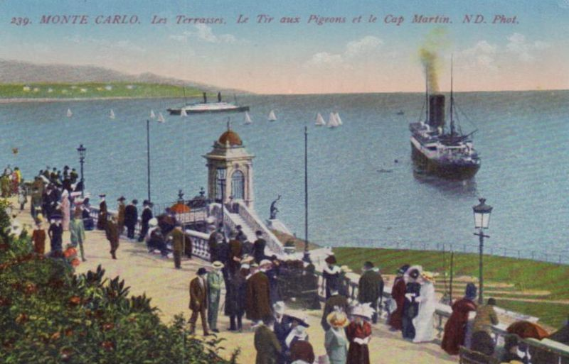 Monte Carlo ...-alte Karte     (ka9605  ) siehe scan