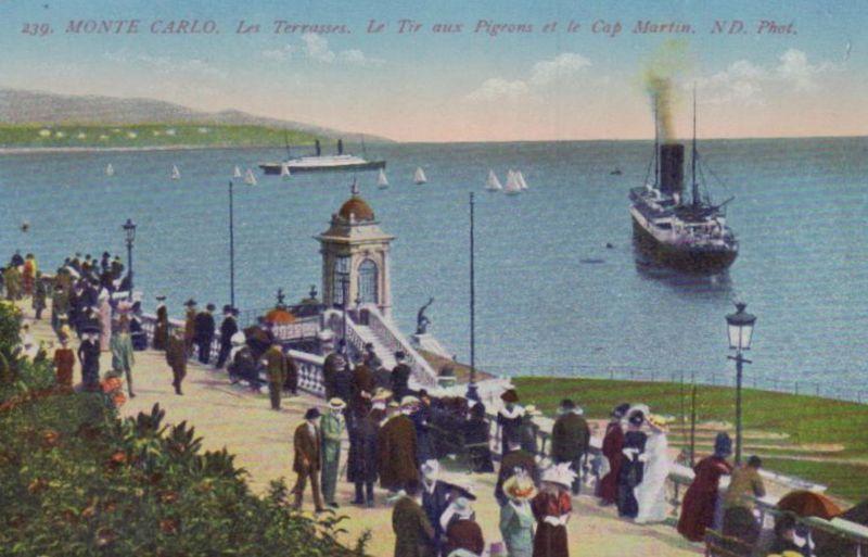 Monte Carlo ...-alte Karte     (ka9609  ) siehe scan