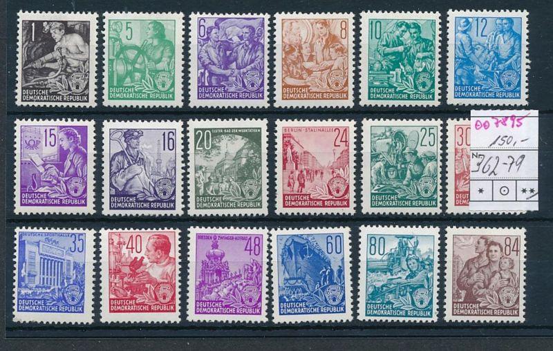 DDR Nr. 362-79      **    (oo7895  ) siehe scan