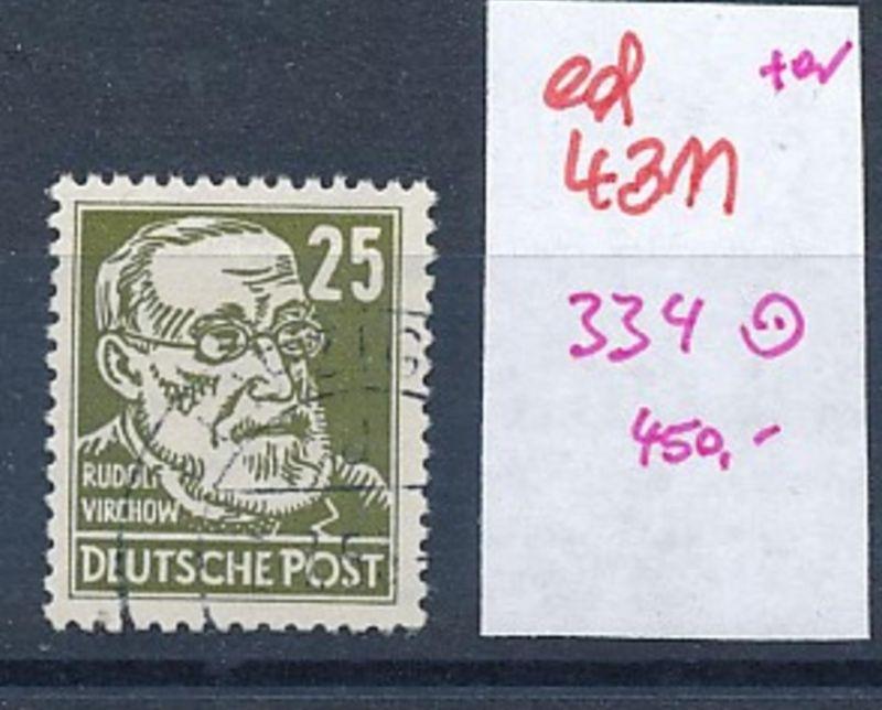 DDR Nr. 334 o   (ed4311  ) siehe scan