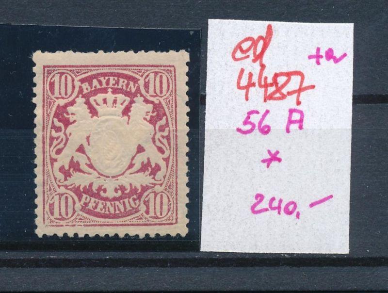 Bayern  Nr. 56 A  *  (ed4487  ) siehe scan