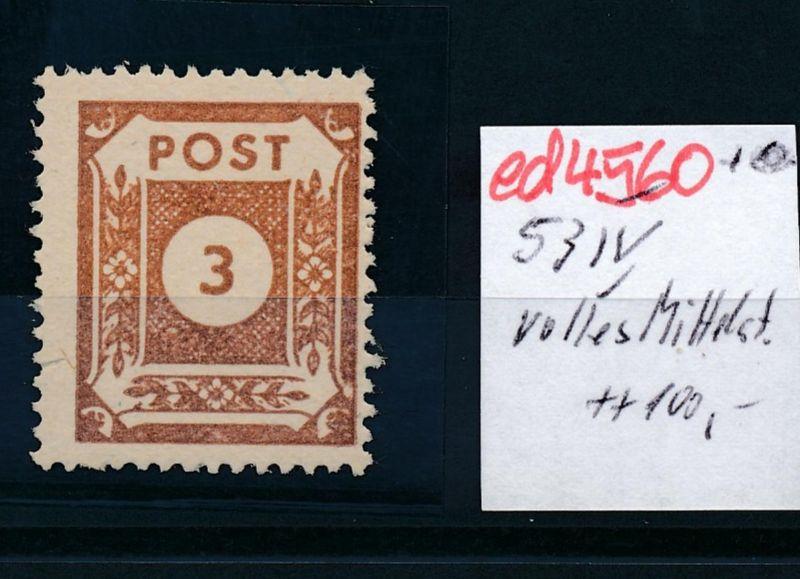 SBZ Nr. 53 VI  ** **  (ed4560  ) siehe scan