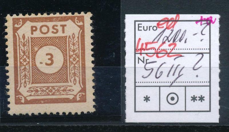 SBZ Nr. 56 III  **  (ed4562  ) siehe scan