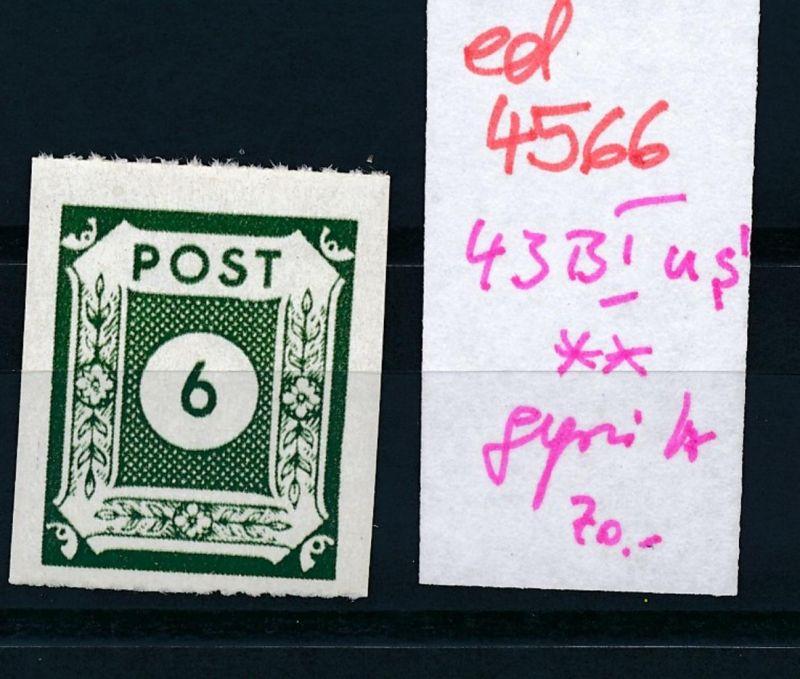 SBZ Nr. 43 BIus **  (ed4566  ) siehe scan