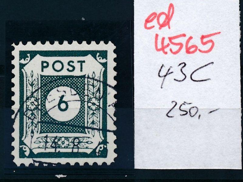 SBZ Nr.  43  C  o   (ed4565  ) siehe scan