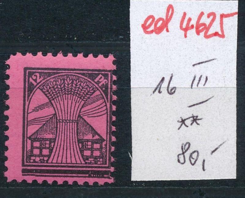 SBZ Nr. 16  III   ** (ed4625  ) siehe scan
