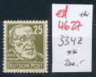 DDR Nr. 334 z     ** (ed4627  ) siehe scan
