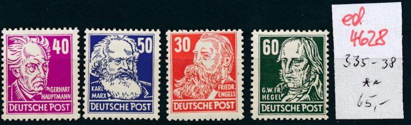 DDR Nr. 335-8    ** (ed4628  ) siehe scan
