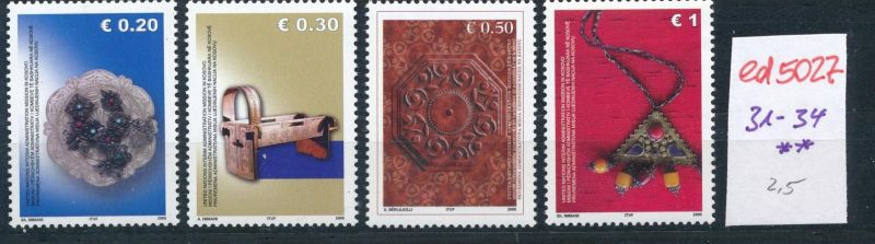 Kosovo  Nr. 31-4  **    (ed5027  ) siehe scan
