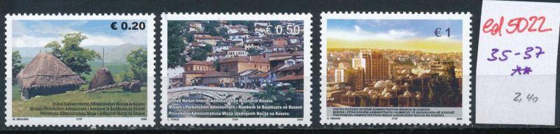 Kosovo  Nr. 35-7  **    (ed5022  ) siehe scan
