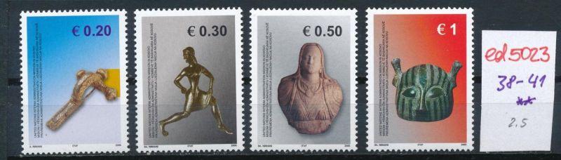 Kosovo  Nr. 38-41 **    (ed5023  ) siehe scan